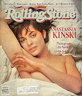 Nastassia Kinski Rolling Stone Magazine