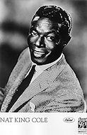 Nat King Cole Promo Print