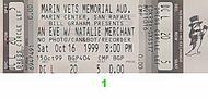 Natalie Merchant 1990s Ticket