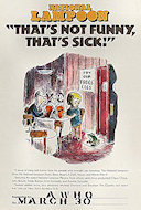 National Lampoon &quot;That's Not Funny, That's Sick&quot; Poster
