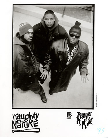 Naughty by Nature Promo Print