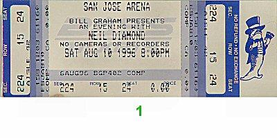 Neil Diamond1990s Ticket