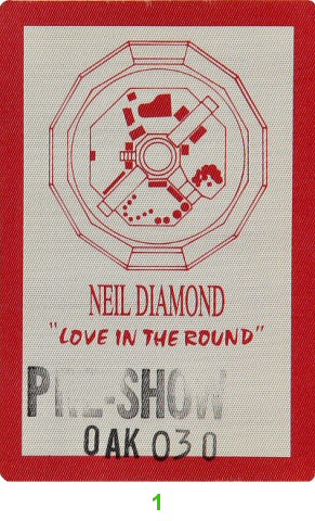 Neil DiamondBackstage Pass