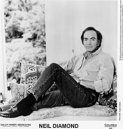 Neil Diamond Promo Print
