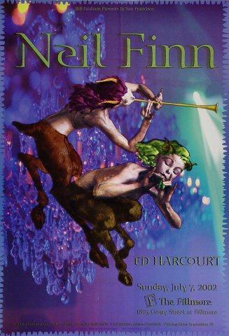 Neil Finn Poster
