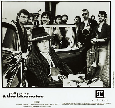 Neil Young & The Bluenotes Promo Print