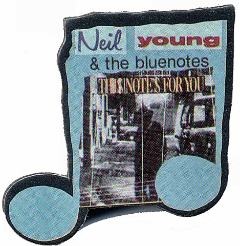 Neil Young & the BluenotesVintage Pin