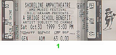 Neil Young1990s Ticket