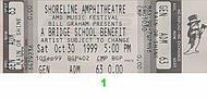 The Who 1990s Ticket