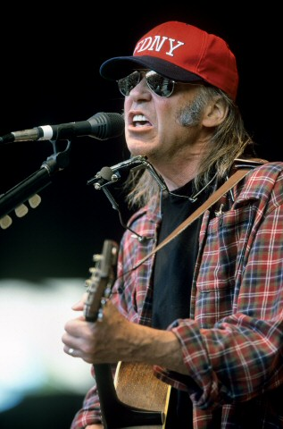 Neil YoungBG Archives Print