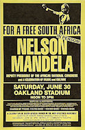 Nelson Mandela Handbill