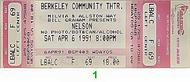Nelson 1990s Ticket