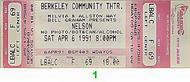 Nelson 1990s Ticket