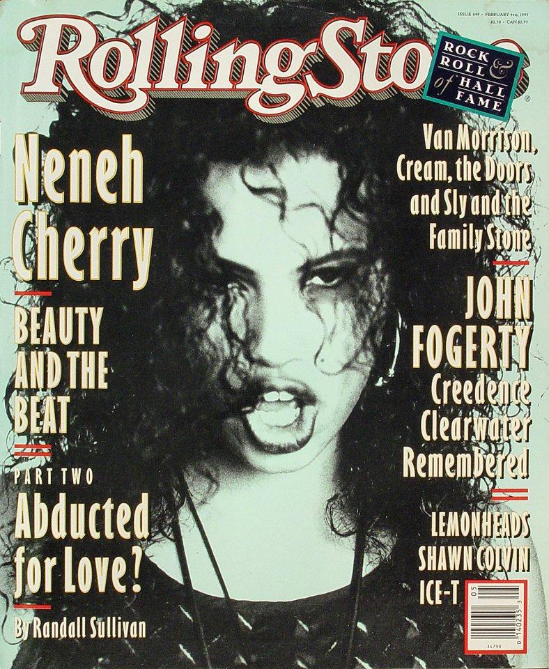 Neneh CherryRolling Stone Magazine
