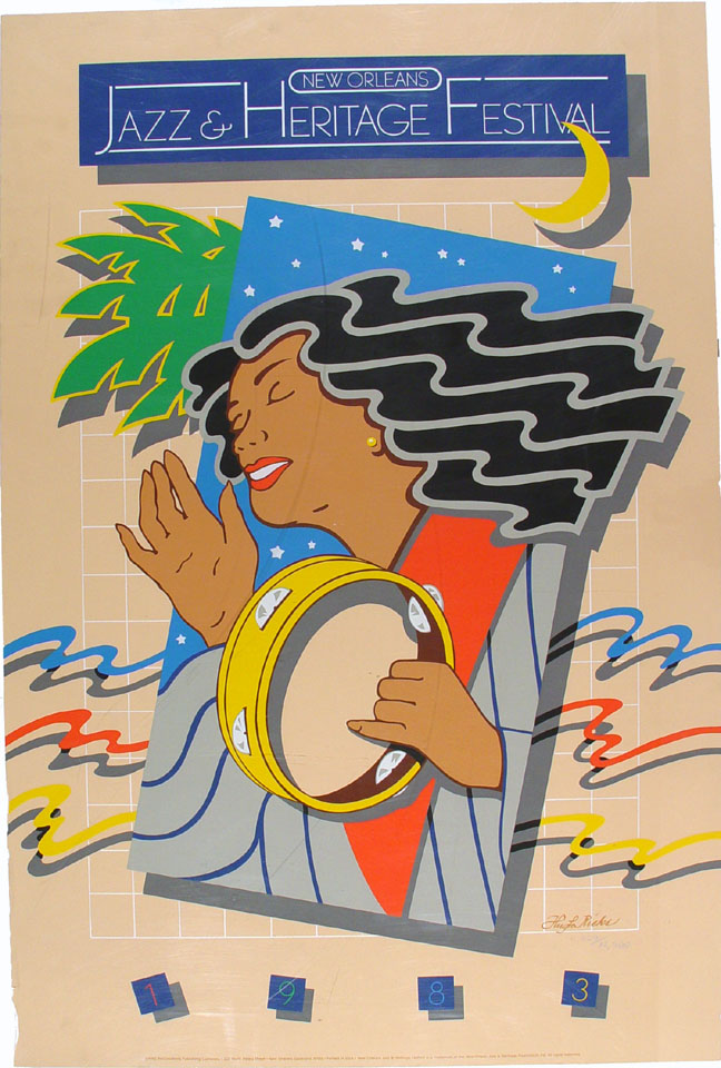 New Orleans Jazz & Heritage Festival Poster