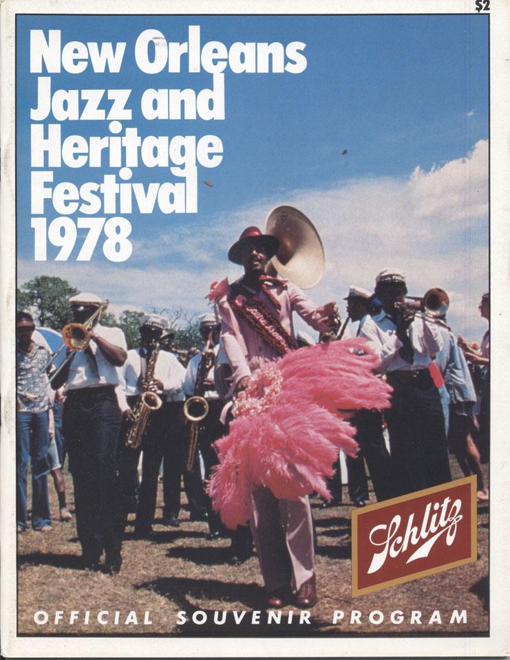 New Orleans Jazz & Heritage Festival Program