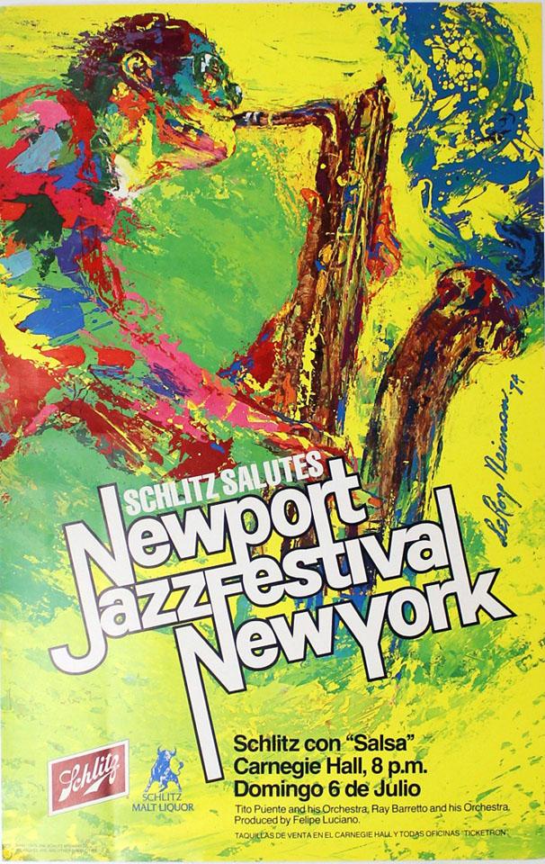 Newport Jazz Festival New York Poster