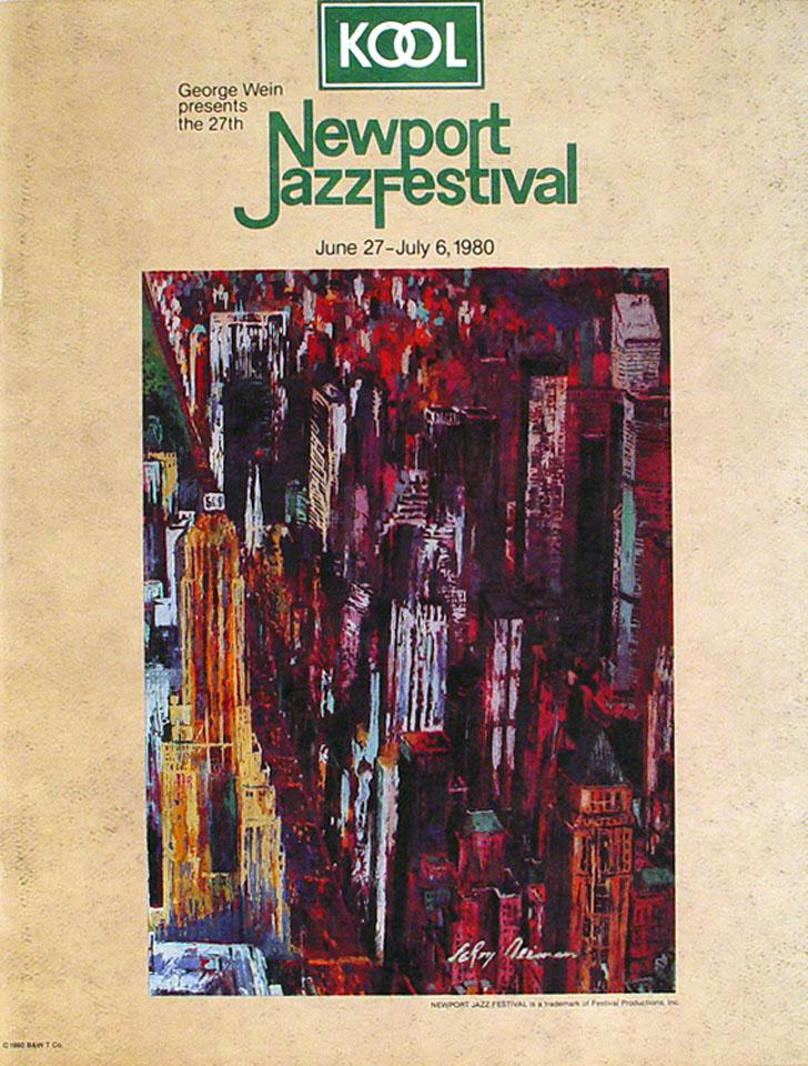 Newport Jazz Festival Program