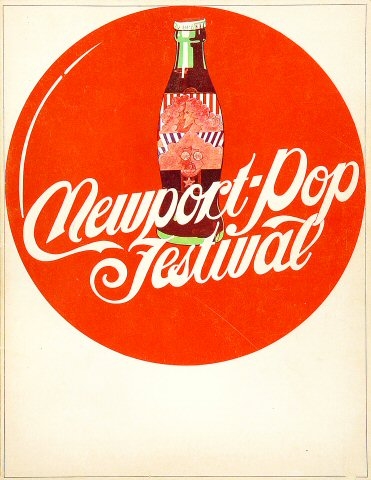 Newport Pop Festival Program