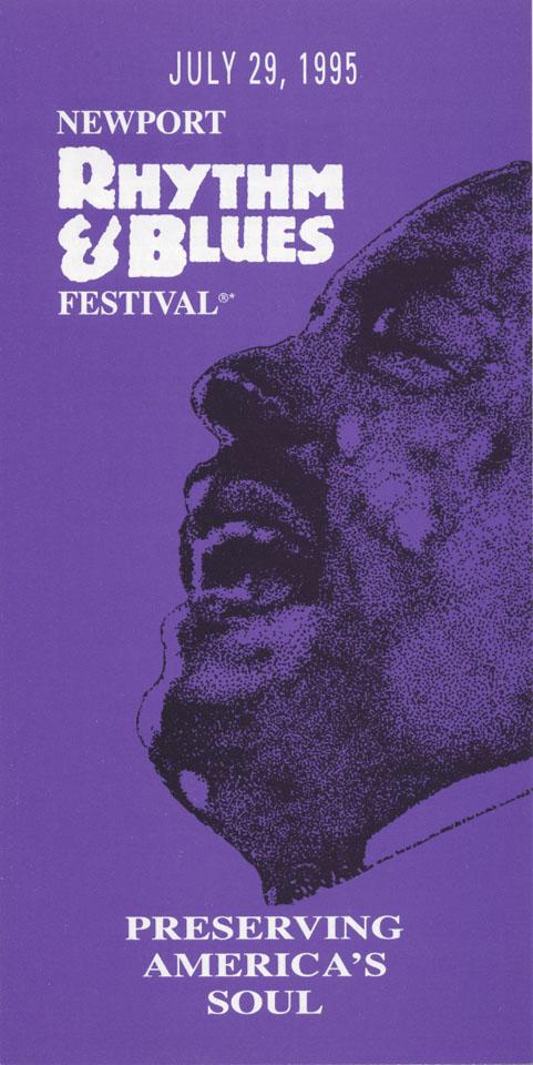 Newport Rhythm & Blues Festival Program