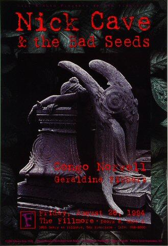 Nick Cave &amp; the Bad Seeds Poster