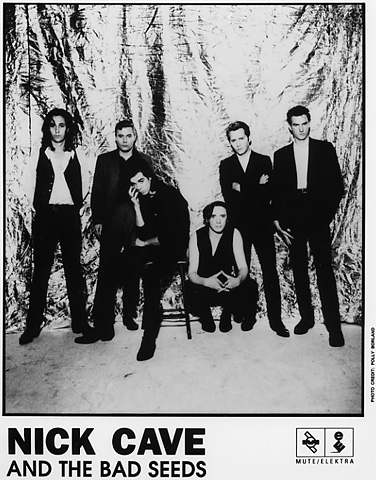 Nick Cave & the Bad Seeds Promo Print