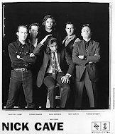 Nick Cave Promo Print