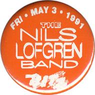 Nils Lofgren Vintage Pin