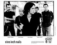 Nine Inch Nails Promo Print