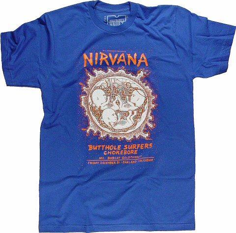 Nirvana Women's Retro T-Shirt