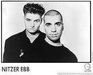 Nitzer Ebb Promo Print
