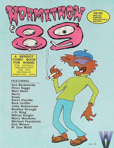 Normlthon '89Magazine