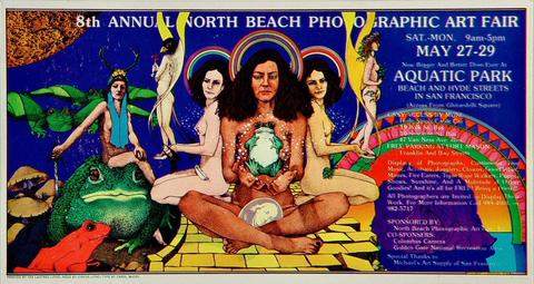 North Beach Photographic Art Fair Handbill