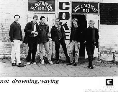 Not Drowning, Waving Promo Print