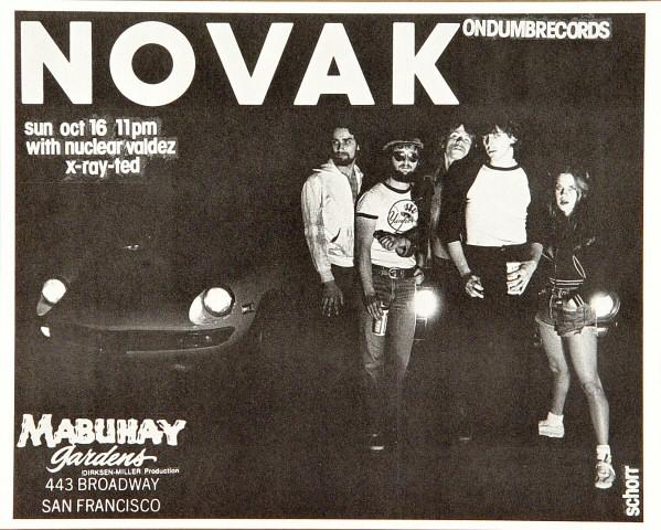 Novak Handbill