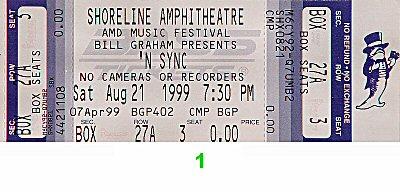 *NSYNC1990s Ticket