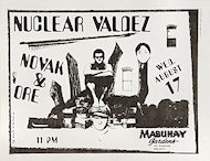Nuclear Valdez Handbill