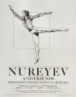 Nureyev Handbill