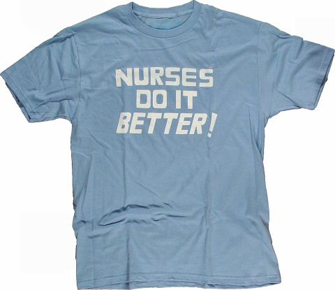 Nurses Do It Better Men's Retro T-Shirt