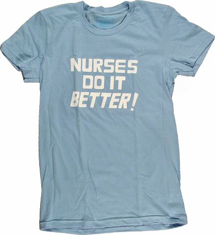 Nurses Do It Better Women's Retro T-Shirt