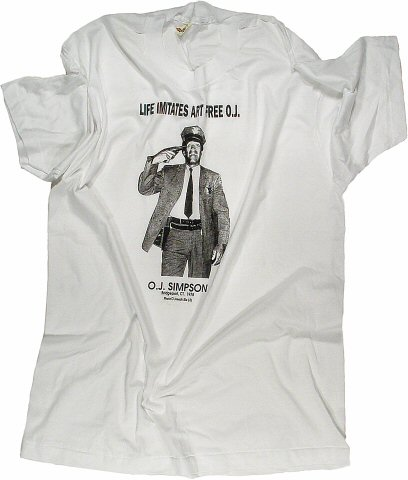 O.J. Simpson Men's Vintage T-Shirt