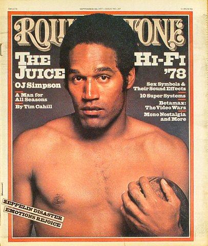 O.J. SimpsonRolling Stone Magazine