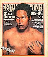 O.J. Simpson Rolling Stone Magazine