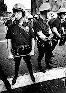 Oakland Riot Police Premium Vintage Print
