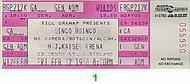 Oingo Boingo 1980s Ticket