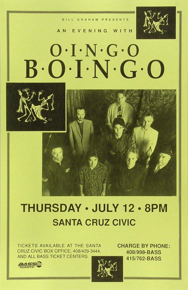 Oingo BoingoPoster