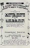 Oingo Boingo Poster