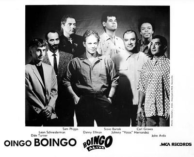 Oingo Boingo Promo Print