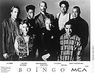 Oingo Boingo Promo Print