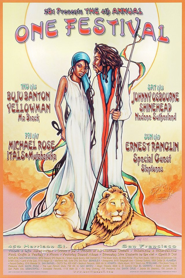 One Festival Poster